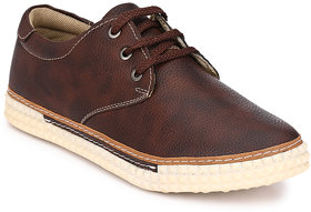 Mactree Men Coffee Casual Sneakers