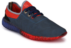 Mactree Men Blue Casual Sneakers