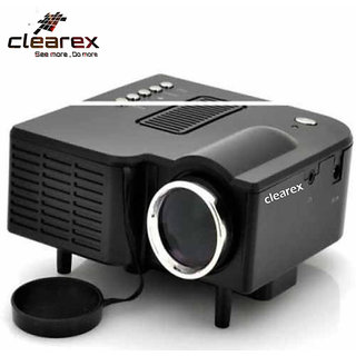 Clearex LED Corded 40 Lumens Portable Projector