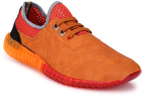 Mactree Men Tan Casual Sneakers