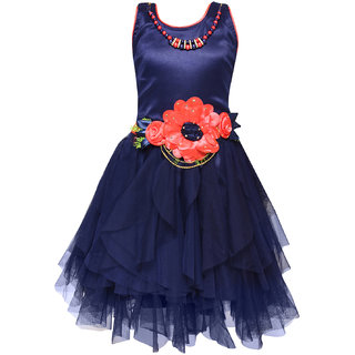 Girls Party Wear Short Frock Dress