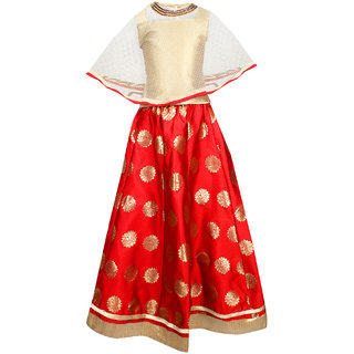 Buy Girls Lehenga Choli Dress For Kids Party Wear Readymade With