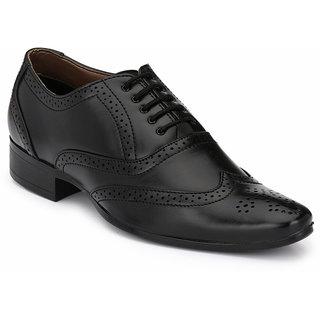 Mactree Men Black Formal Shoes