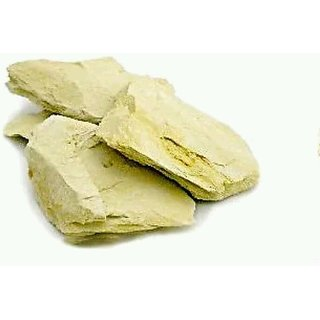 Multani Mitti Fuller's Earth Volcanic Clay Chunks - 400 gm (100 Purest Form).