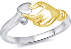 Vighnaharta Best Surprise Rhodium Plated Alloy Ring for Women and girls