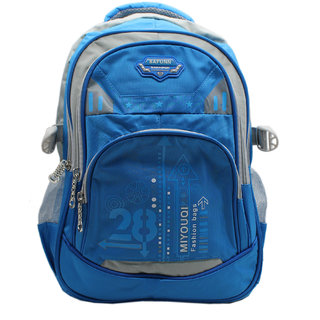 Trendy Blue Colour Casual Backpack with Laptop Sleeve