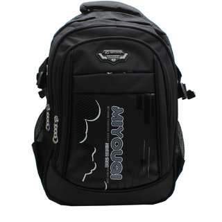 Trendy Black Colour Casual Backpack with Laptop Sleeve
