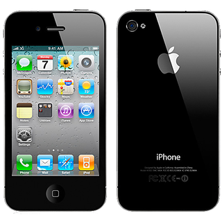 Apple iPhone 4 (512 MB RAM  32 GB ROM)Refurbished- Excellent Condition With 6 Months Ingram Warranty