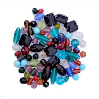 Assorted Glass Beads for Making Jewelry and decoration.