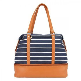 Stripes Compartment Bag