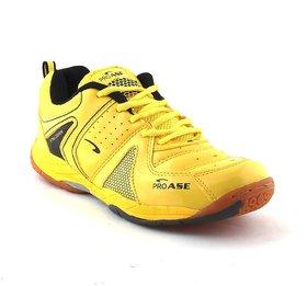 ProAse Yellow Badminton Shoes