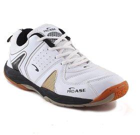 ProAse White Badminton Shoes