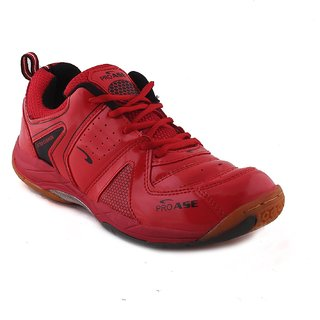 ProAse Red Badminton Shoes