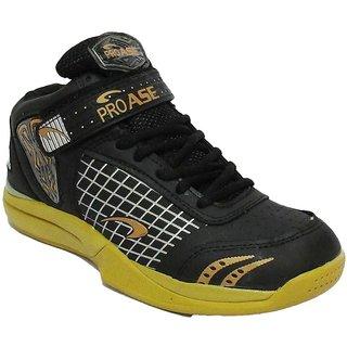 ProAse Black Basketball Shoes
