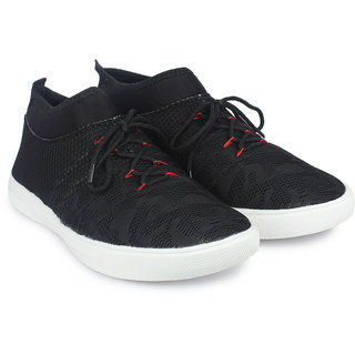 Do Bhai Black Casuals Sneakers
