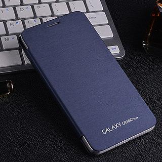 Samsung Flip Cover For Galaxy Note2 N7100- Dark Blue