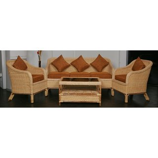 buy ira cane sofa set with cushions online get 0 off