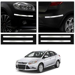 Trigcars Ford Fiesta Car Car Chrome Bumper Scratch Potection Guard