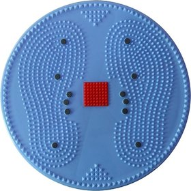 Acupressure Twister Big Disc Acupressure Pyramid  Magnetic Treatment Therapy (Blue)