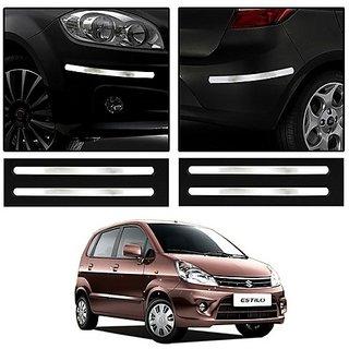 Buy Trigcars Maruti Suzuki Zen Estilo Car Chrome Bumper Scratch