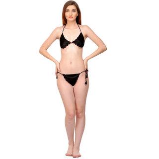 a3cea72277a50 Buy Boosah Multi Satin Bra   Panty Set Online - Get 57% Off