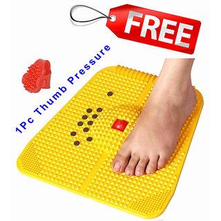 Acupressure Foot Mat 2000 full body fitness slimming health product free 1PC Thumb pad