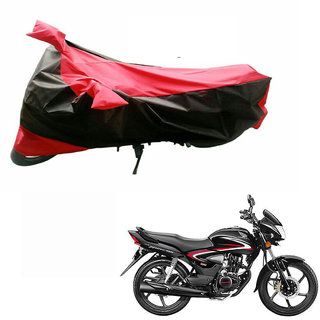AKART Black  RED Two Wheeler Cover-649