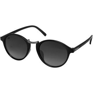 Walrus James  Black Color Unisex Oval Sunglass - WS-JAMES-II-020218