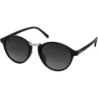 Walrus James  Black Color Unisex Oval Sunglass - WS-JAMES-II-020207