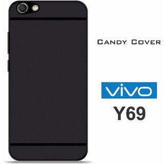 Vivo Y69 Premium Soft Silicon Back Phone Cover Black