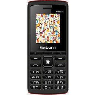 Karbonn K17 Rock (Dual sim camera phone 1750mah battery Black)
