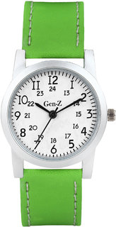 Gen-Z Girls Peppy Green Watch