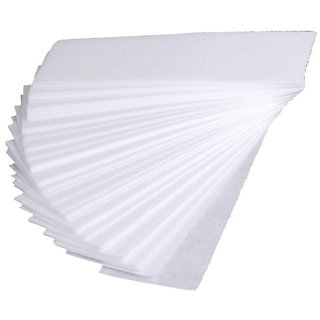 Long Lasting Easy  Safe White Disposable Waxing Strips-100pc
