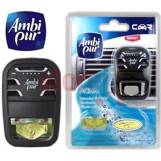 Ambi Pur Starter Pack Car Ac Vent Air Freshner