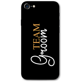 Iphone 7 Designer Hard-Plastic Phone Cover from Print Opera -Team Groom