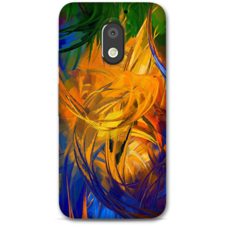 Moto E3 power Designer Hard-Plastic Phone Cover from Print Opera -Painting