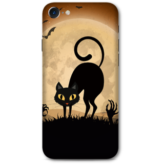Iphone 7 Designer Hard-Plastic Phone Cover from Print Opera -halloween scary