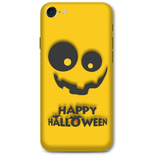 Iphone 7 Designer Hard-Plastic Phone Cover from Print Opera -Happy Hallowen in yellow
