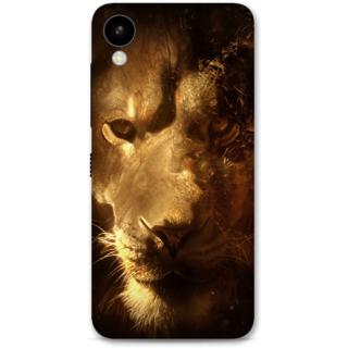 HTC 825 Designer Hard-Plastic Phone Cover from Print Opera -Lion