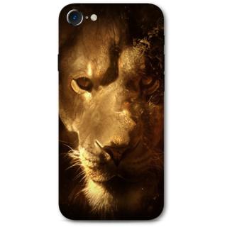 Iphone 7 Designer Hard-Plastic Phone Cover from Print Opera -Lion