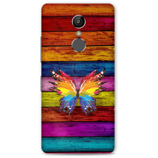 Gionee S6S Designer Hard-Plastic Phone Cover from Print Opera -Butterfly