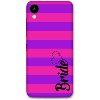 HTC 825 Designer Hard-Plastic Phone Cover from Print Opera -Bride