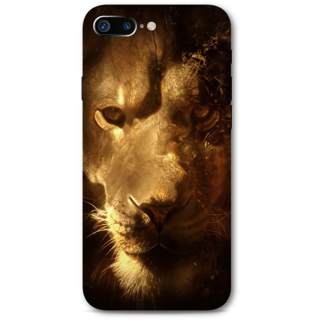 Iphone 7 plus Designer Hard-Plastic Phone Cover from Print Opera -Lion