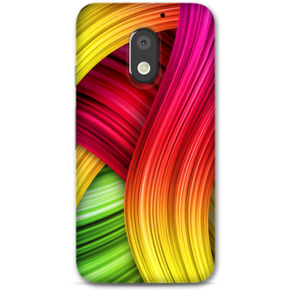 Moto E3 power Designer Hard-Plastic Phone Cover from Print Opera -Artistic Painting