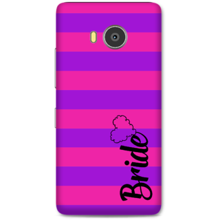 Lenovo A7700 Designer Hard-Plastic Phone Cover from Print Opera -Bride