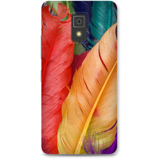 Lenovo A6600 Designer Hard-Plastic Phone Cover from Print Opera -Colored Wings