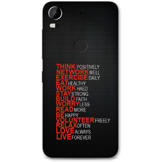 HTC 10 Pro Designer Hard-Plastic Phone Cover from Print Opera -Motivational Quotes