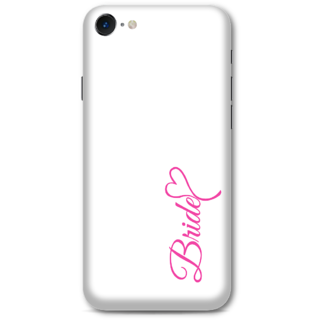 Iphone 7 Designer Hard-Plastic Phone Cover from Print Opera -White Bride