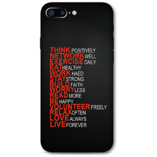 Iphone 7 plus Designer Hard-Plastic Phone Cover from Print Opera -Motivational Quotes