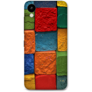 HTC 825 Designer Hard-Plastic Phone Cover from Print Opera -Colored Cubes
